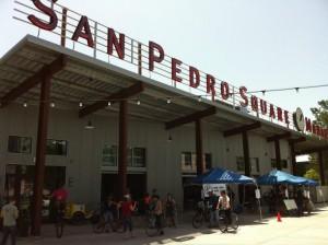 Establishing Shot of the San José Bike Clinic's Bike to Work Day Gear-Up Event