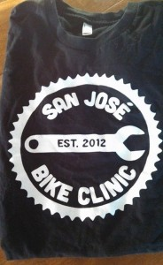 San Jose Bike Clinic T-shirt